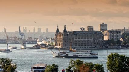 istanbul haydarpasa timelapse