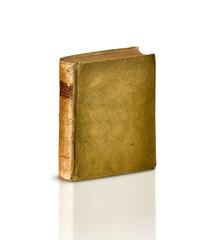 libro antico su fondo bianco
