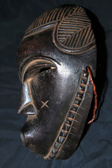 African Tribal Mask - Songe Tribe
