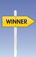 pancarte winner