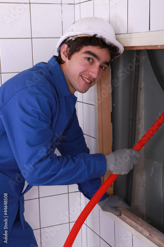 plumber happy to work