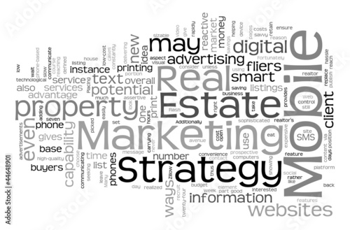 Strategy For Real Estate Mobile Marketing
