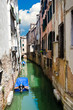 Glimpse of a canal in Venice