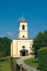 St. Zofia's Church in Strecno