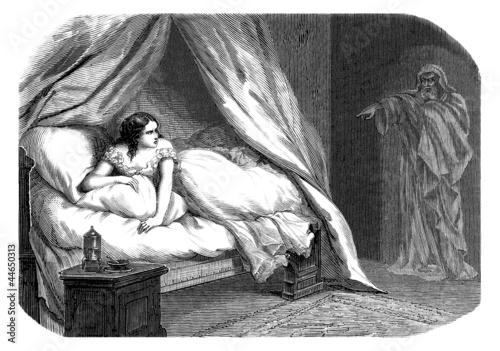 Guilty ! Lady Macbeth & Ghost