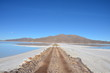 road to the salar