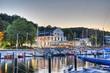 Leinwanddruck Bild - yachthafen Bootshafen