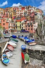 pictorial Italy - Monarolla fishing village, Cinque terre