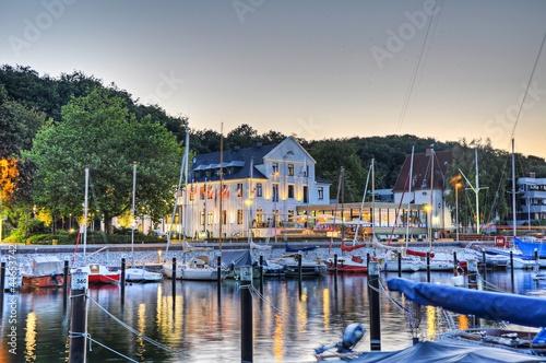 Leinwanddruck Bild yachthafen Bootshafen