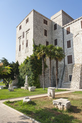 Ancient building known as Rector's palace in Sibenik, Croatia