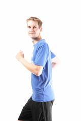 Friendly runner