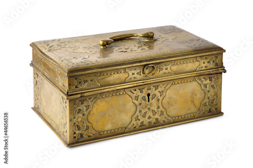 Brass Box With Handle