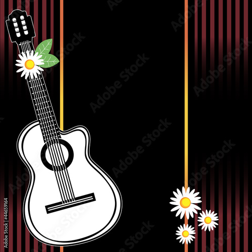 Classical vector guitar