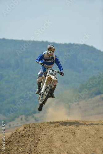 motocross bike - 44659717