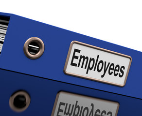 Employees File Contains Employment Records And Documents