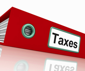Taxes File Contains Taxation Reports And Documents