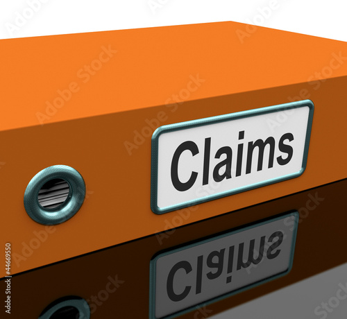 Claims File Contains Insurance Applications Or Paperwork