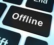 Offline Key Shows Internet Communication Status Disconnected