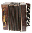 Old bayan (musical instrument as accordion)