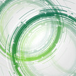 Round Abstract Background Light Green EPS10
