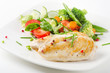 chicken fillet with vegetables