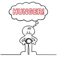 figur hat hunger