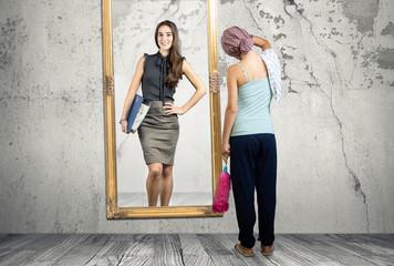 Kontroverse Hausfrau - Karrierefrau