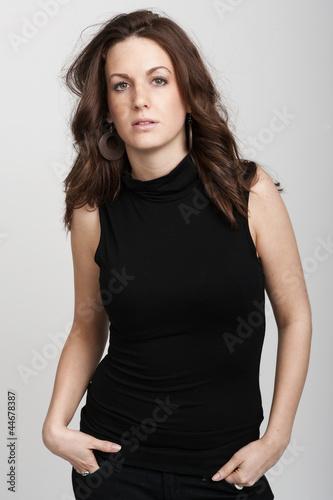 Fotomodell posing