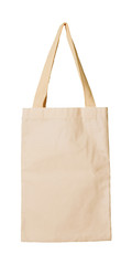 clothes bag isolated white concept reused
