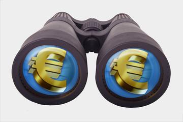 prismáticos + euro