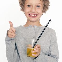 glücklicher Junge