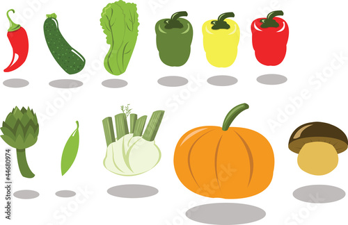 Group of Vegetables part 2