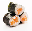 Three Fresh Sushi Rolls