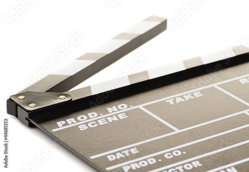 Portrait Of Clapper Board