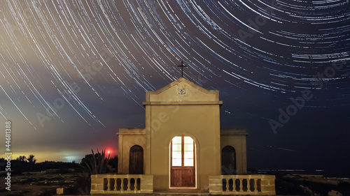 Star Trails over Chape