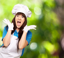 Shocked    To Woman On Cooking Time