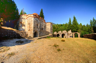 Mystical Mystras, The church of Panayia Hodegetria