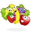 frutta cartoon