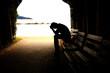 teen depression, tunnel