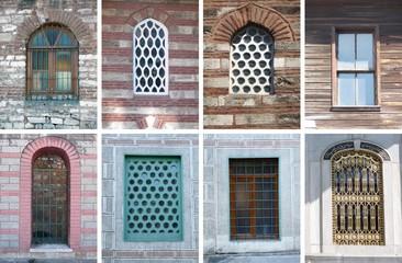 İstanbul'daki eski pencereler