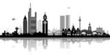 Fototapety Skyline Frankfurt am Main