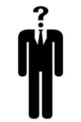 Icono humano anónimo.