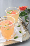 Refreshing citrus drinks
