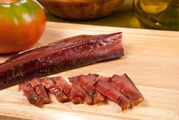 Dry bonito tuna