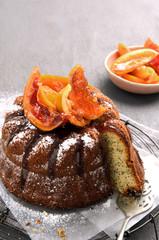 Delicious poppyseed cake