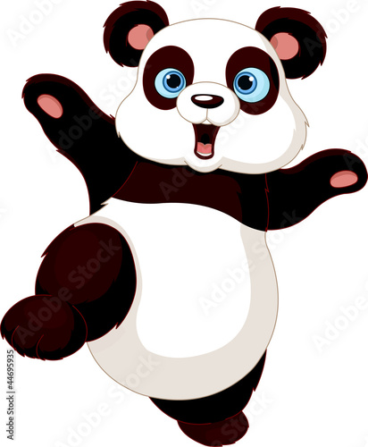 Fototapete Giant panda - Hübsch - Säugetiere