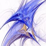 Fototapety Fractal Illustration background