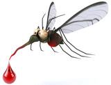 Fototapety Fun mosquito