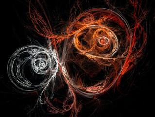 Fractal Illustration background