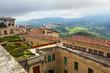 Top view of the San Morino, Italy